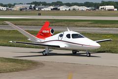 Eclipse Concept Jet N5184U (Flightline Aviation Media) Tags: airplane canon20d aircraft aviation jet eaa oshkosh airventure stockphoto osh kosh eclipseaviation vlj eclipseconceptjet n5184u bruceleibowitz