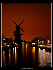 Silhouette of a Windmill - Schiedam (DolliaSH) Tags: nightshot schiedam windmolen windmill canon eos 50d wideangle ultrawide dollia dollias sheombar holland thenetherlands photoshop photomatix hdr efs cs4 tonemapping nederland flickrelite flickrlovers citrit mywinners visit molinodeviento molino moulinvent windmhle mulino 1022 sun soleil sonne sol sole solntse zakat tramonto zonsondergang sunset sunrise coucherdesoleil sonnenuntergang puestadelsol photo photos foto color colors photography light lights paisaje atardecer europe zuidholland southholland visitholland anmazingnetherlands