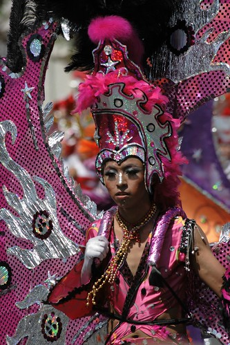 Carnaval Merida 2009 Chica Rosa