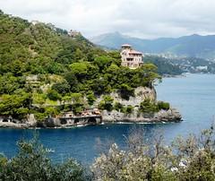 Portofino ....coast (baronerosso1) Tags: sea cliff costa landscape coast mar italia mare liguria portofino promontorio