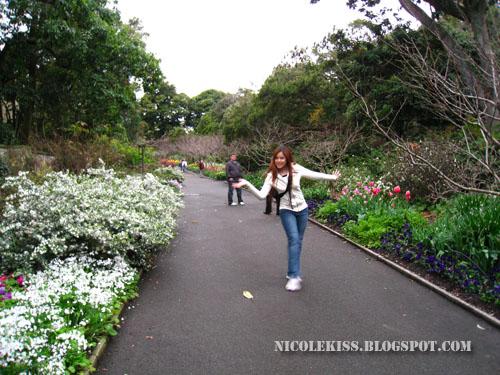 nicolekiss doing the spring walk
