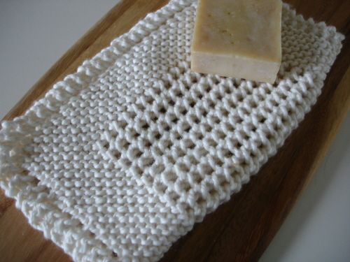 Free Dish Rag Knitting Patterns : FREE KNITTED DISH CLOTH PATTERNS - FREE PATTERNS