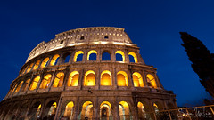 Colosseum Glory (Sean Molin Photography) Tags: city longexposure rome roma heritage scale beautiful soldier fight lowlight european roman circus landmark colosseum arena huge coliseum epic colossal emperor gladiator colosseo wonderoftheworld colise colorsofthenight vacationeuropeitalyrome2009marchvacationitalli vacationeuropeitalyrome2009marchvacationitallian seanmolin wwwseanmolincom