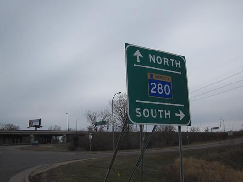 Highway 280 Entrance Ramp at Kasota