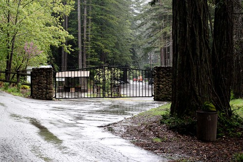 Entrance to Bohemian Grove
