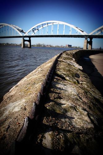 Centennial Bridge Davenport IA