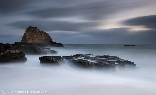 Weathering The Storm - Davenport, California