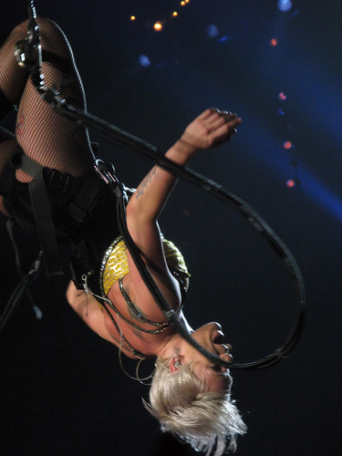 Pink live at the MEN Arena, Manchester