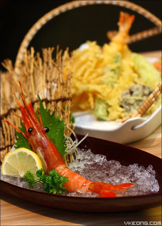 tempura-ebi-sashimi