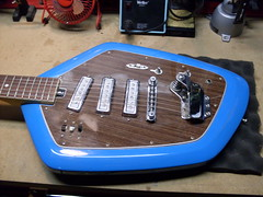 Del Ray Body (Roadside Guitars) Tags: electric vintage guitar vox phantom clone delrey teisco
