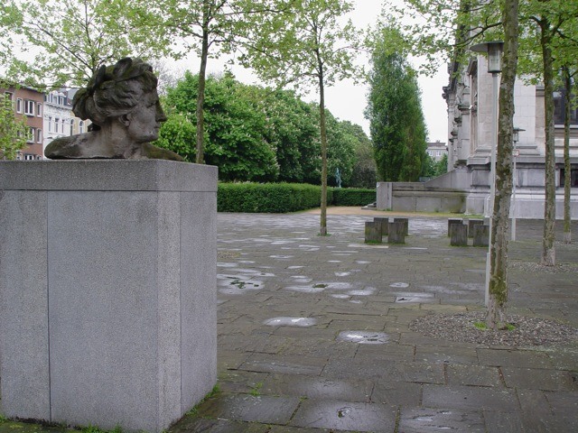 Statue in Antwerp