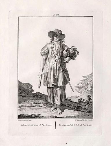 008a- Jibaro de la isla de Puerto Rico 1777-1788