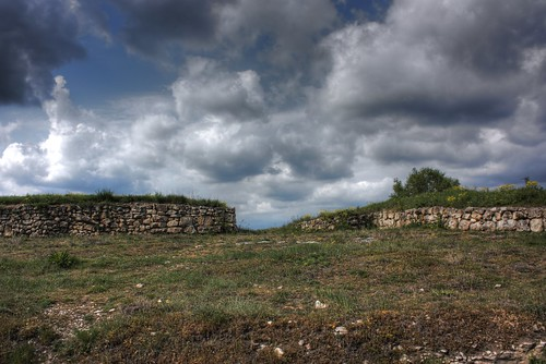 Thracian city Helis - The Walls by Klearchos Kapoutsis.