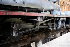 Cylinder & rod of steam loco 42 (florian_grupp) Tags: railroad industry train silver asia mine burma engine railway loco steam mining cylinder rod myanmar locomotive southeast shan birma 42 narrowgauge shanstate 2feet bagnell 610mm namtu