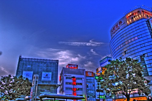 The Sky In Akabane