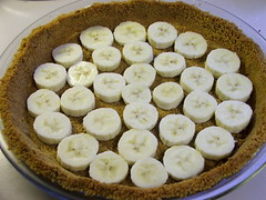 Bananas Foster Cream Pie