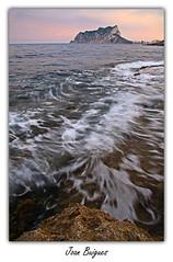 Soft waves (Joan Buigues) Tags: nd filters mediterrneo moraira costablanca ndfilter mediterrani filtros filtres calp pendeifach canonistas penyaldifach