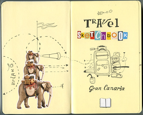 Travel sketchbook: Gran Canaria