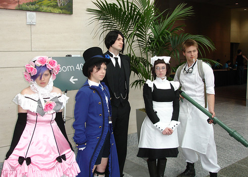 Animazement 2009: Black Butler Group