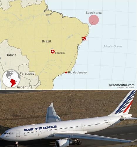Thumb Encuentran los restos del avión AF 447 en Brasil