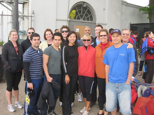 ScotiaMcLeod Rosedale Branch Dragon Boat Race Training