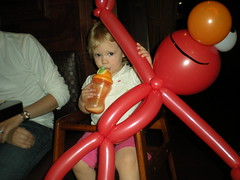 Balloon Elmo!