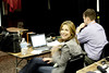 Savannah Guthrie in ASU press center