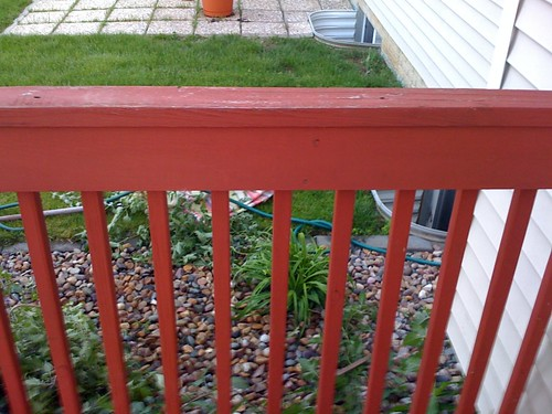 Deck - Ugly Red Solid Stain