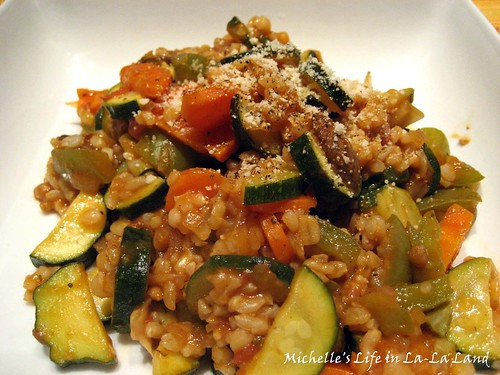 偽 Ratatouille Risotto