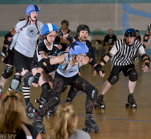 Black-n-Bluegrass vs Blue Ridge Rollergirls-29