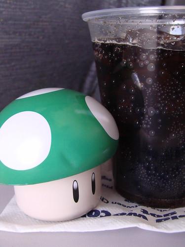 1up + Diet Coke