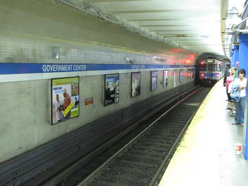 Government Center Blue Line
