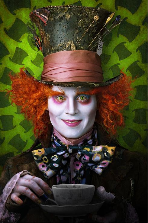 Alicia en el País de las Maravillas Johnny Depp