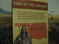 "Museum sign with ""Find of the Century"""