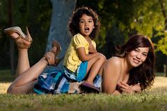 [フリー画像] 人物, 親子・家族, 少女・女の子, アメリカ人, 201004290100