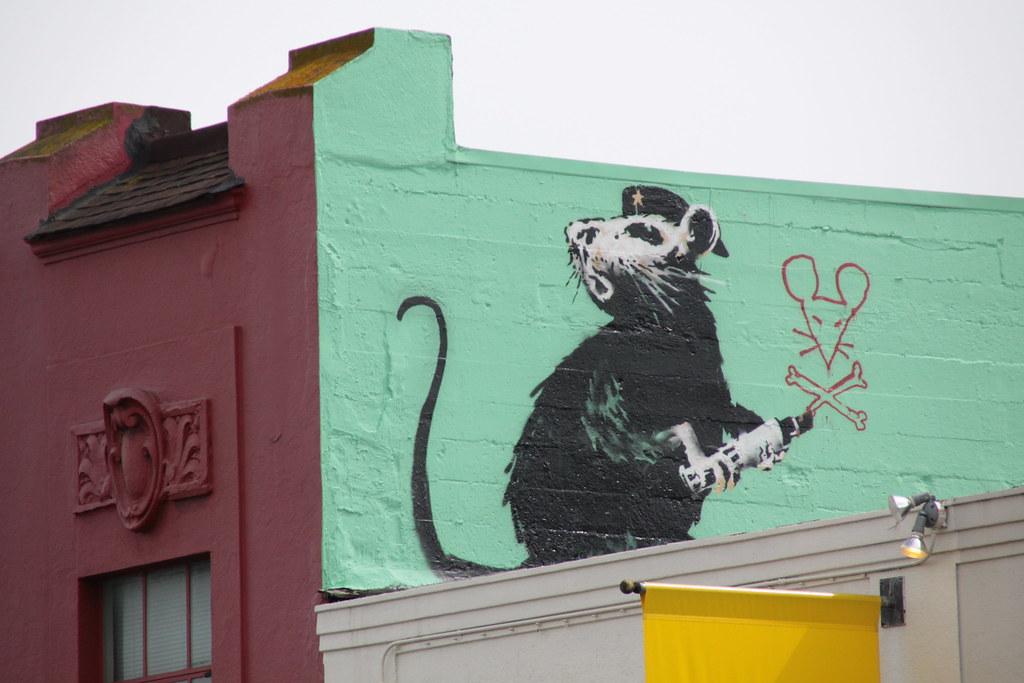 Hopping on the Banksy bandwagon!