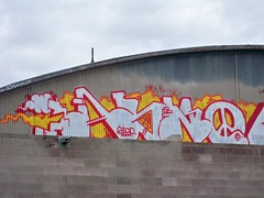 Abno (Mr. Blonde.) Tags: graffiti losangeles al albuquerque days hour pigs pdb trackside atlarge abno ruets albuquerquegraffiti