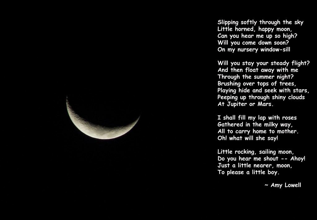 P1320756 Moon A crescent Moon Poem
