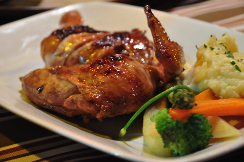 Chicken in Balsamic Barbeque Sauce