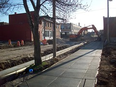 sidewalk installation (courtesy of ONSL Restoration Group)