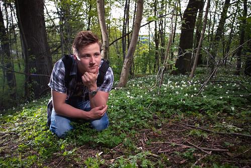 Niklas playing nature show guy