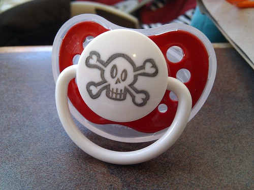 Pirates need pacifiers too