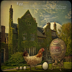 Egg... or solving the main philosophical problem. (egold.) Tags: canada egg universityoftoronto textures hen hdr faberge theunforgettablepictures dictionaryofimage saariysqualitypictures magicunicornverybest selectbestexcellence magicunicornmasterpiece newgoldenseal sbfmasterpiece philosophicalproblem