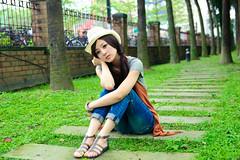 (Funstyle) Tags: portrait woman cute girl beauty model nikon asia taiwan sigma babe ntu taipei  fx 2010 peopel       2470 mikako  difocus d700