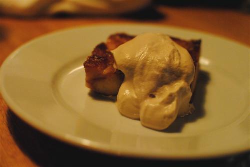 Krispy Kreme Bread Pudding w: Espresso Whip