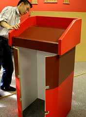Branded Podium using X-Board