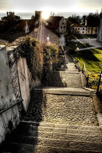 Stairs. Escaleras. Visby