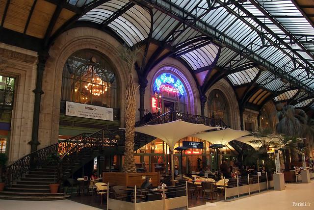 Le restaurant de la gare, le Train Bleu, un chef d'œuvre d'architecture