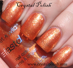Wet N Wild 9.0.2.1.Orange (CrystalPolish) Tags: orange drugstore shimmer wetnwild 9021orange