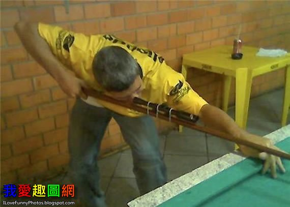 打桌球最準的一個方法 Table Tennis [我愛趣圖網]